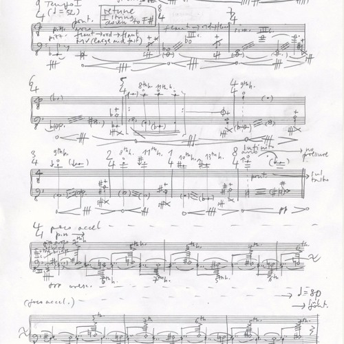 Strepito e Garbuglio - Florentin Ginot - unedited studio recording