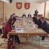 Sesja rady powiatu  - przekazanie solarów użytkownikom
