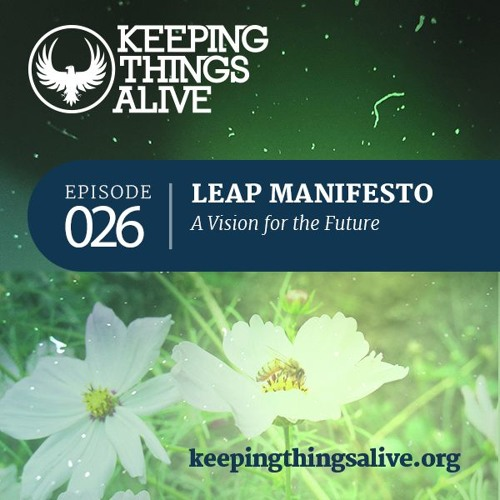 026 Leap Manifesto - A Vision for the Future
