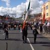 "by Unknown artist - West Belfast's - Eire Nua Drum & Flute Band, ""GIVIN' IT LOADS"" 1916 Commemoration."