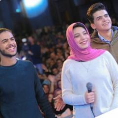 كريم رفعت و محمد ايبو مع سارة حسنى - كل واحد