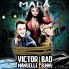 Víctor Manuelle Ft. Bad Bunny - Mala Y Peligrosa - DJ Dio P - Salsa Intro - 95BPM
