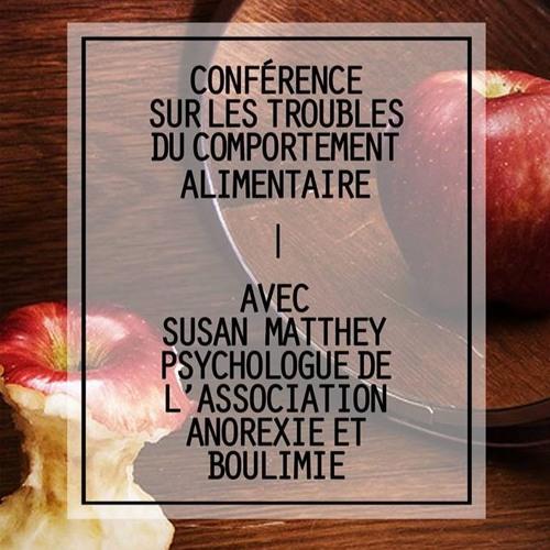 Conférence EPSYL du 16.03.17 sur les troubles des conduites alimentaires