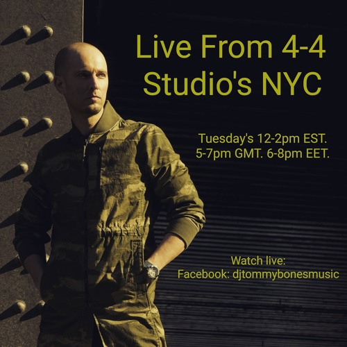 Tommy Bones - Live From 4-4 Studio's NYC 12.05.17