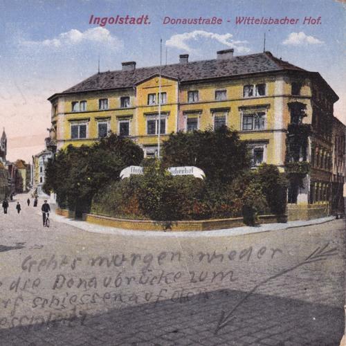 Opas Krieg - 2. Feldpostkarte vom 25.06.1915