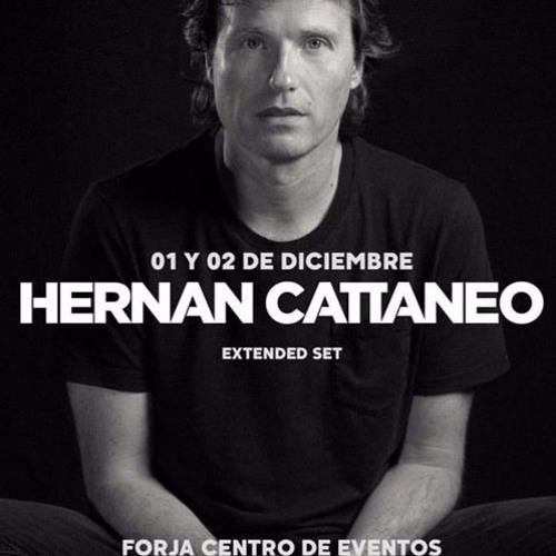 Hernan Cattaneo Live @Forja Cordoba Día 2 PARTE 2- 02 - 12 - 2017 - Extended Set