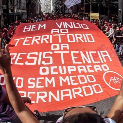 """""""Ocupação da Secretaria continua até termos resposta de Alckmin"""", diz líder do MTST"""