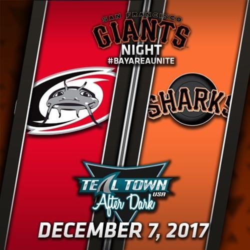 Teal Town USA After Dark (Postgame) - Sharks vs Hurricanes - 12-7-2017