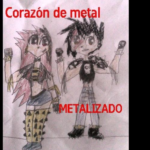 CORAZÓN DE METAL -METAL HEART (METALIZADO) rock metal (free