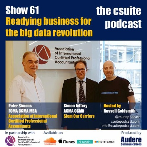 Show 61 - Readying business for the big data revolution