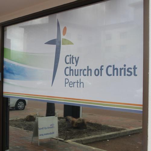 James Parker at City Church of Christ Dec 2017