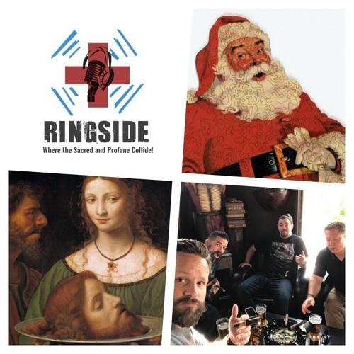 ep 57 Church responds to calamity, Santa is real. I have his thigh bone! John the Baptist,
