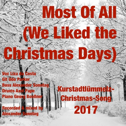 Most Of All (I Liked The Christmas Days)