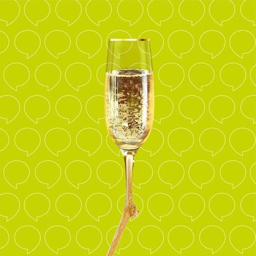 L'odyssée d'une bulle de champagne, de la bouteille à la flûte…