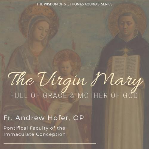 """""""The Virgin Mary: Full of Grace"""" - Fr. Andrew Hofer, OP"""