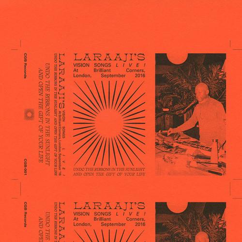 Cosmic Joe from Laraaji's Vision Songs Live at Brilliant Corners