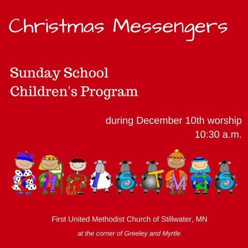 Christmas Messengers Christmas Program December 10, 2017