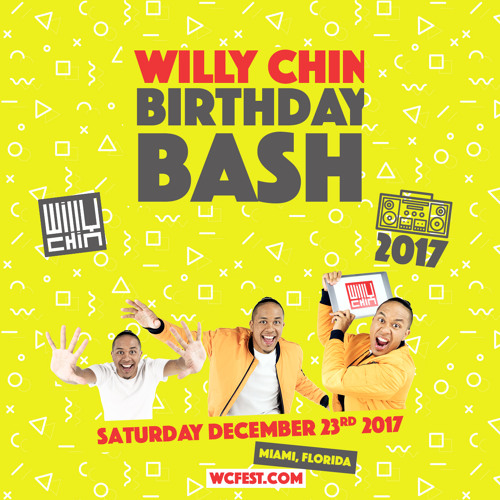 Willy Chin Birthday CD 2017  (WCFEST.COM)