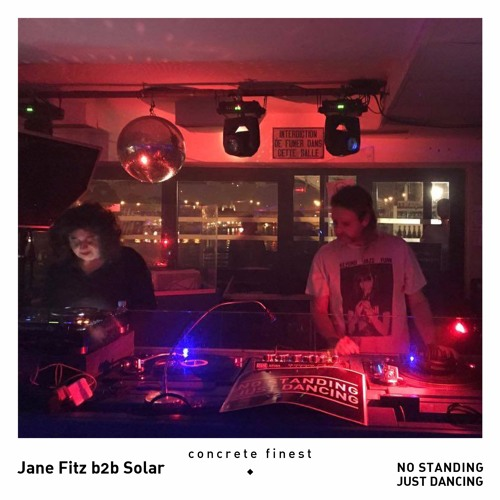 Concrete Finest: Solar B2b Jane Fitz, October 21st, 2017