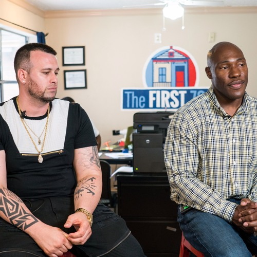 Helped by The First 72+, two men share their journeys to prison and re-entry