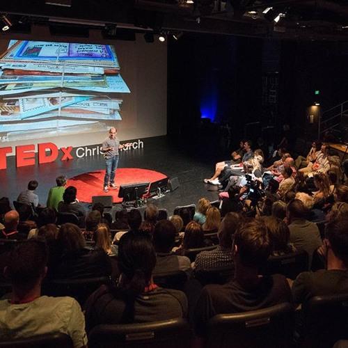 TEDxChristchurch Kaila Colbin Co-Organizer