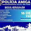 Nova Jerusalém será palco neste sábado do Espetáculo Musical Polícia Amiga em Natal sem Fome