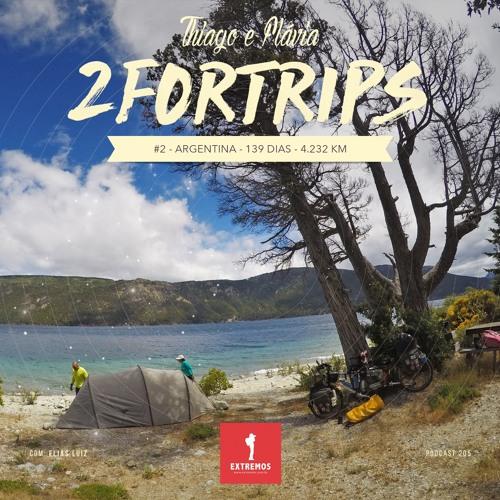 205 - 2ForTrips #2 - 139 dias - 4.232 km
