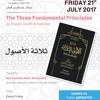 L20 - The Three Fundamental Principles