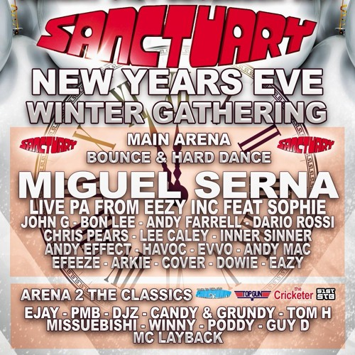 Sanctuary New Years Eve Promo Mix - Andy farrell by Andy