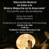 Educación musical en base a música mapuche, Encuentro con profesores, 6 julio 2017