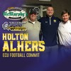 HOT AUDIO: ECU Football commits Holton Ahlers, Peyton Winstead & Jaren Rainey joined Brian Bailey