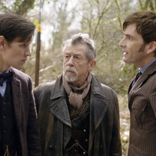 Episode 111: The Day of the Doctor or Care Bear Stare that Dalek
