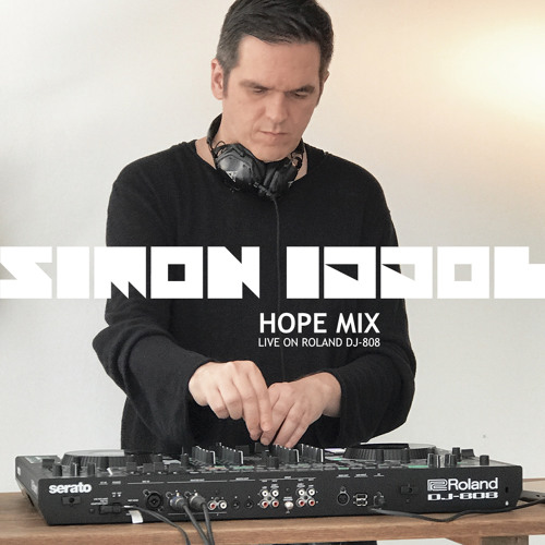Simon Iddol - HOPE mix (live on Roland DJ-808)