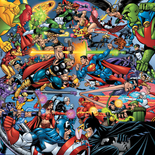 Episode 31 - DC vs Marvel: A Scholarly Debate