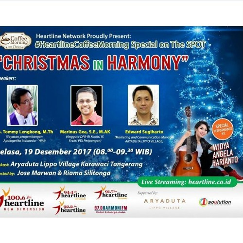 Coffee Morning Special On The Spot 19 Desember 2017 (Christmas In Harmony)