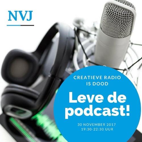 Creatieve radio is dood. Leve de podcast!