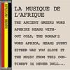 AFRICAN BEATS: La Musique De L'Afrique.