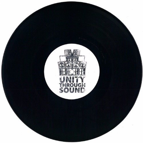 """Tetrad - A. Green Crack / Tetrad & Headland - B. Crossed Out (10"""" Hand-Stamped Vinyl Only)"""