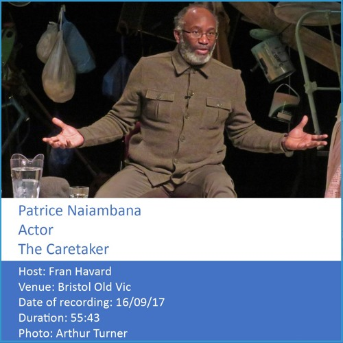 In Conversation: Patrice Naiambana - Actor, The Caretaker
