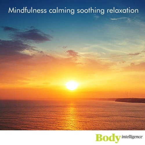 Mindfulness relaxation for calming soothing