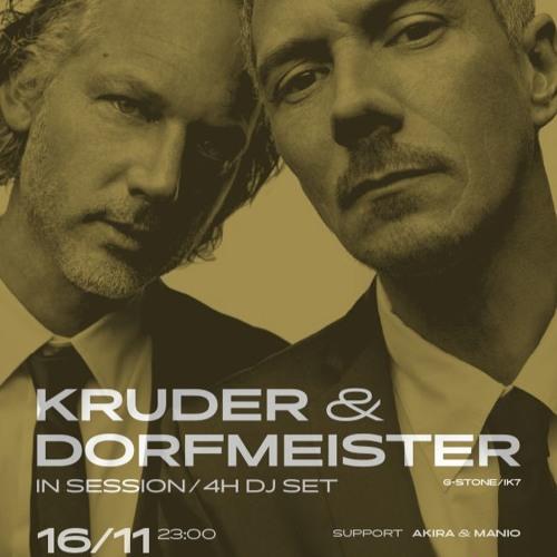 KRUDER & DORFMEISTER/ Prag roxy / 16.11.2017 /part#2