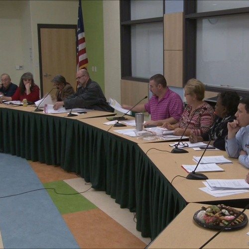 Greenfield Town Council Meeting December 20, 2017