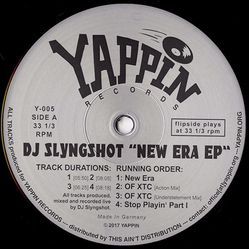 DJ Slyngshot - New Era EP