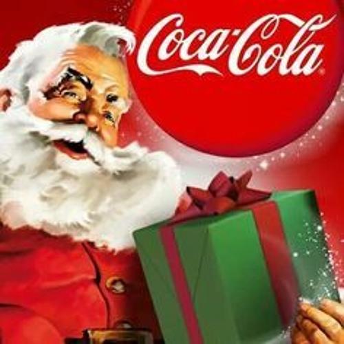 Le père-noël travail pour Coca-Cola