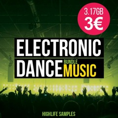 Electronic Dance Music Bundle[Sample Pack 3.17GB/1670 Sounds Only 3€]
