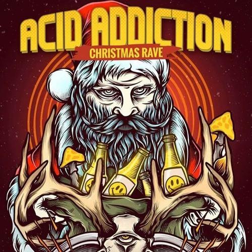 FRANKY JONES @ ACID ADDICTION 'Xmas Rave' (22.12.17 - IKON - ANTWERP)
