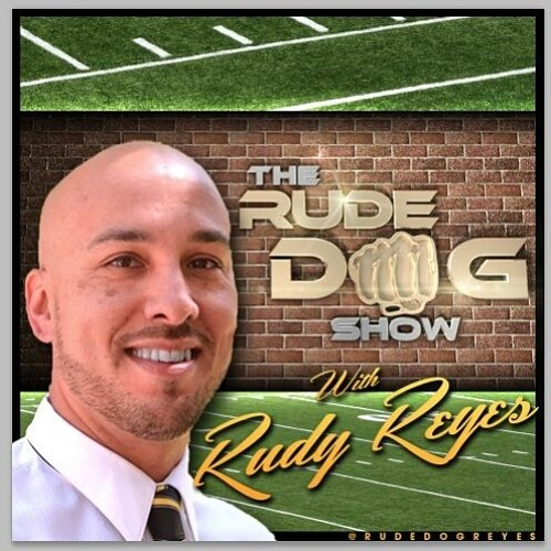"TheRudeDogShow | Rudy Reyes talking to Dennis Jordan ""The Golf Dude In The Basement"" 122317."