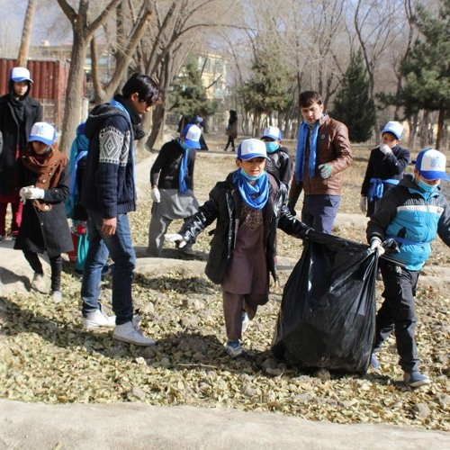 Why volunteer in Afghanistan when the world revolves around money