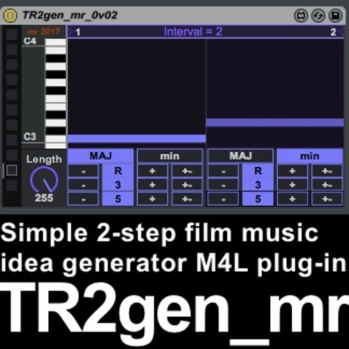 TR2gen Mr 0v01 M2m Demo02