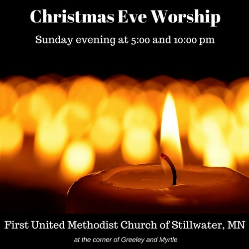 Christmas Eve Service 10:00 pm  Pastor Marty Raths